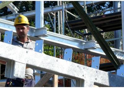 Montaggio struttura in acciaio