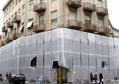 Ristrutturazione filiale bancaria: facciata