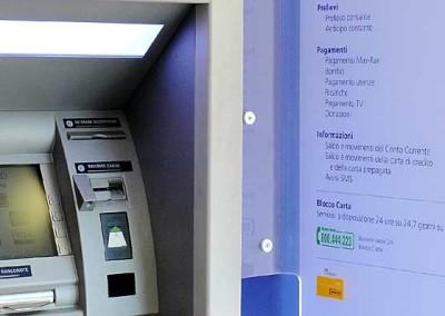 ATM cash in e cash out presso area self. Milano