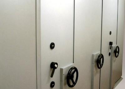 Cassette di sicurezza in caveau