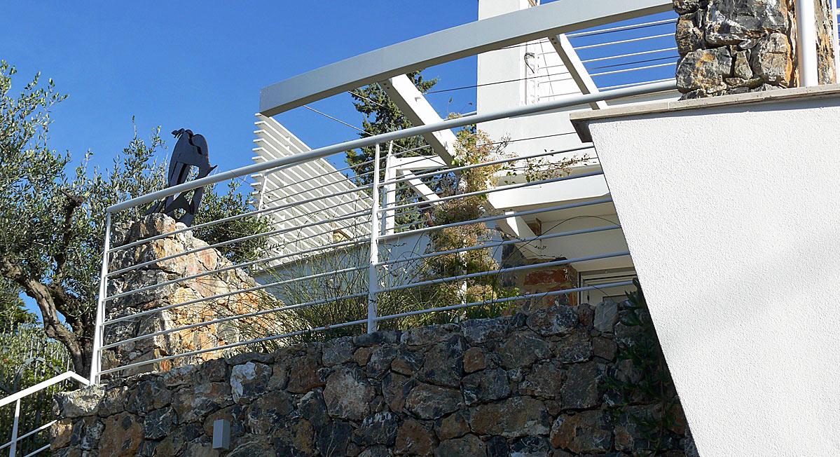 Architettura: progetto villa sul mare di Lerici (La Spezia)