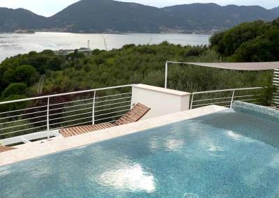 La piscina sul tetto