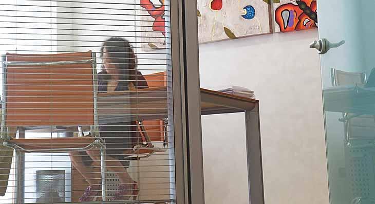 architettura ufficio pareti vetrate