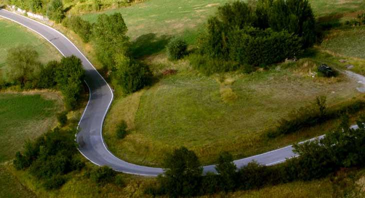 Strada di Campagna in Umbria
