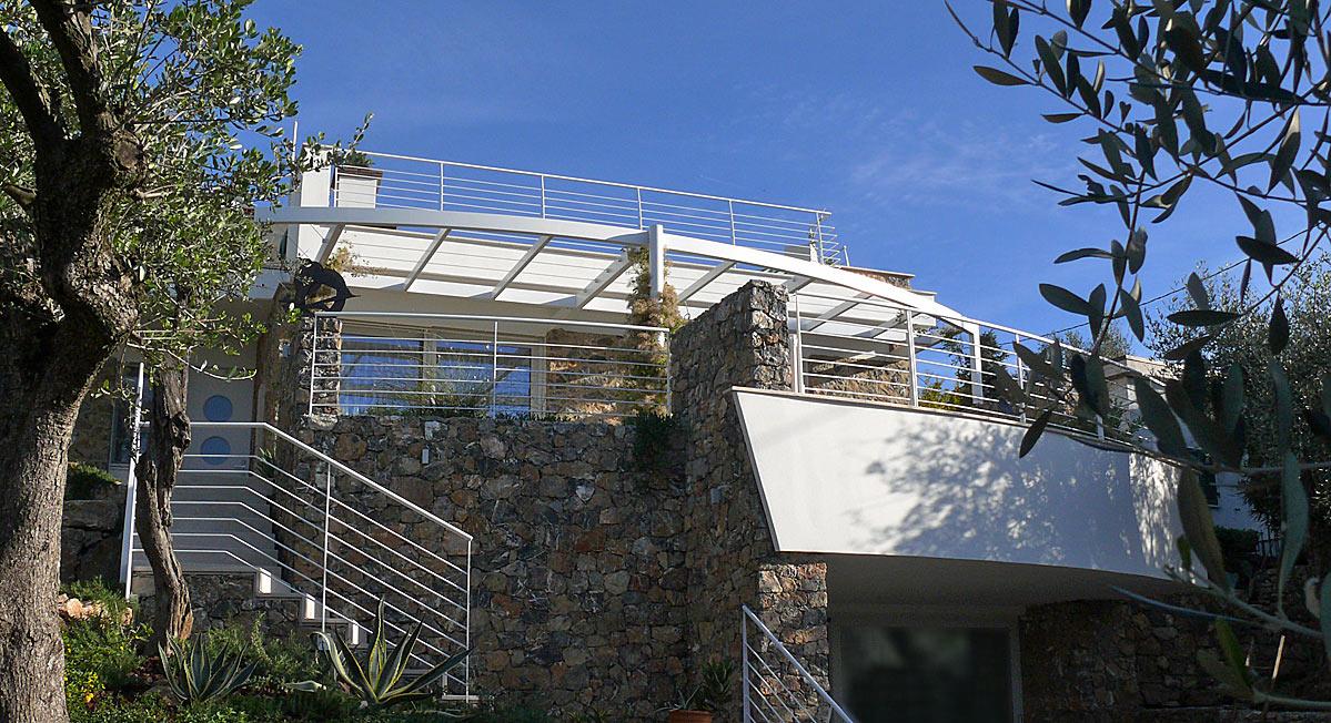 Progetto di villa moderna a Lerici, golfo dei poeti (La Spezia)