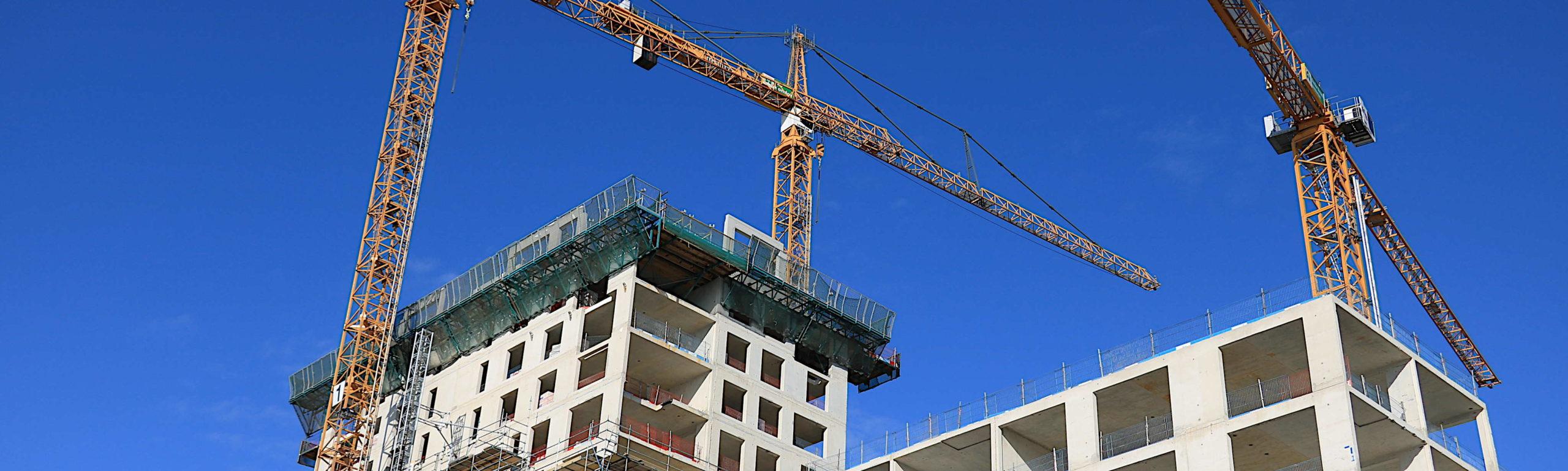 Progettazione cantiere edile.
